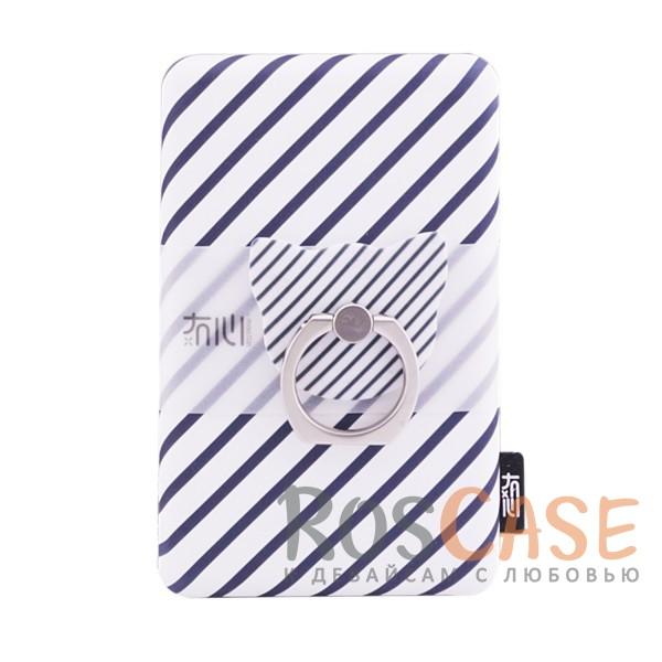 Портативное зарядное устройство Power Bank со скругленными краями (Tola T-1) 10000mAh (1 USB 1A) (Диагонали)Описание:в комплекте кольцо-подставка;оригинальный дизайн;емкость - 10000 мАч;совместимость - универсальная;тип - внешний аккумулятор.<br><br>Тип: Внешний аккумулятор<br>Бренд: Epik