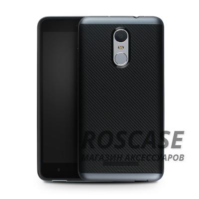 Чехол iPaky TPU+PC для Xiaomi Redmi Note 3 / Redmi Note 3 Pro (Черный / Серый)Описание:производитель - iPaky;совместим с Xiaomi Redmi Note 3 / Redmi Note 3 Pro;материал: термополиуретан, поликарбонат;форма: накладка на заднюю панель.Особенности:эластичный;рельефная поверхность;прочная окантовка;ультратонкий;надежная фиксация.<br><br>Тип: Чехол<br>Бренд: Epik<br>Материал: TPU