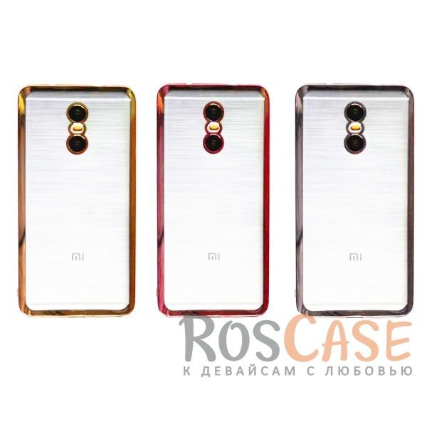 Прозрачный силиконовый чехол для Xiaomi Redmi Pro с глянцевой окантовкойОписание:материал - силикон;совместим с Xiaomi Redmi Pro;тип - накладка.Особенности:прозрачный;глянцевая окантовка;все вырезы предусмотрены;защищает от царапин и потертостей;тонкий дизайн;плотно облегает корпус.<br><br>Тип: Чехол<br>Бренд: Epik<br>Материал: TPU