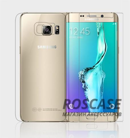 Защитная пленка Nillkin (на обе стороны) для Samsung Galaxy S6 Edge PlusОписание:бренд:&amp;nbsp;Nillkin;совместим с Samsung Galaxy S6 Edge Plus;используемые материалы: полимер;тип: пленка на обе стороны.&amp;nbsp;Особенности:все необходимые функциональные вырезы;антибликовое покрытие;не влияет на чувствительность сенсора;легко поддается процедуре чистки;матовая;закрывает только центральную часть экрана;на ней не заметны следы от пальцев.<br><br>Тип: Защитная пленка<br>Бренд: Epik
