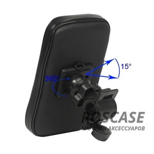 Фото Черный Велосипедный держатель для Apple iPhone 5/5S/SE