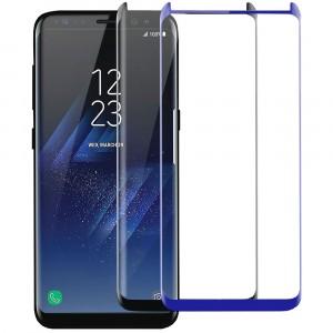 Защитное изогнутое стекло 3D для Samsung G950 Galaxy S8 / S9 на весь экран