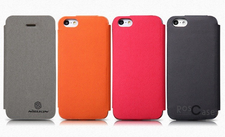 Кожаный чехол (книжка) Nillkin Stylish Color для Apple iPhone 5