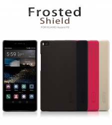 фото Матовый чехол Nillkin Super Frosted Shield для Huawei Ascend P8 (+ пленка)
