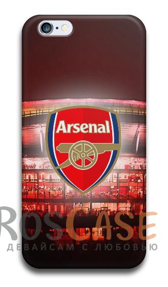 """Фото Арсенал Пластиковый чехол RosCase """"Футбольные команды"""" для iPhone 5C"""