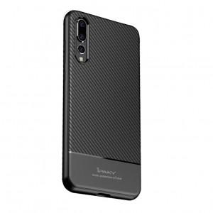 iPaky Musy | Ультратонкий чехол для Huawei P20 с карбоновым покрытием