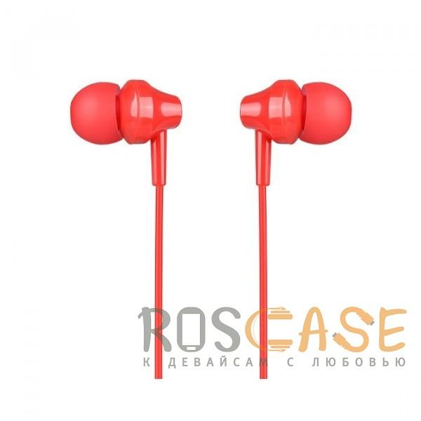 Фото Красный HOCO M14   Стерео наушники с микрофоном