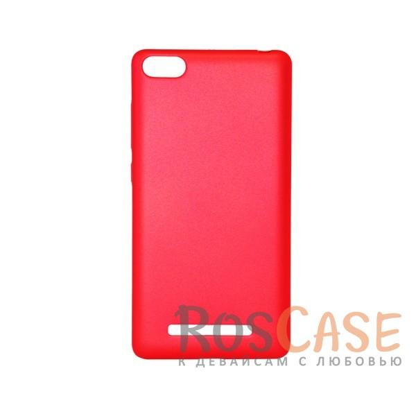 Матовая soft-touch накладка Joyroom из ударостойкого пластика с дополнительной защитой углов для Xiaomi Mi 4i / Mi 4c (Красный)Описание:бренд - Joyroom;совместимость - Xiaomi Mi 4i / Mi 4c;материал - пластик;тип - накладка.<br><br>Тип: Чехол<br>Бренд: Epik<br>Материал: Пластик