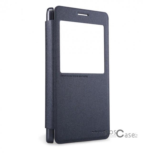 Кожаный чехол (книжка) Nillkin Sparkle Series для Samsung A700H / A700F Galaxy A7 (Черный)Описание:бренд -&amp;nbsp;Nillkin;совместим с Samsung A700H / A700F Galaxy A7;материал: кожзам;тип: чехол-книжка.Особенности:защита от механических повреждений;не скользит в руках;интерактивное окошко;функция Sleep mode;не выгорает;тонкий дизайн.<br><br>Тип: Чехол<br>Бренд: Nillkin<br>Материал: Искусственная кожа