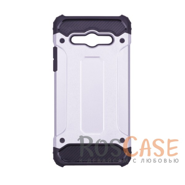 Противоударный двухкомпонентный чехол с дополнительной защитой углов для Huawei Y3 (2017) (Серебряный)Описание:ударопрочный чехол;спроектирован специально для Huawei Y3 (2017);защищает заднюю панель гаджета и боковые грани;приподнятые бортики защищают экран от царапин;конструкция из двух материалов - термополиуретана и поликарбоната;предусмотрены все необходимые вырезы;не скользит в руках;формат - накладка.<br><br>Тип: Чехол<br>Бренд: Epik<br>Материал: TPU