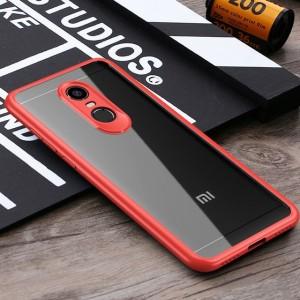 iPaky Hard Original | Прозрачный чехол для Xiaomi Redmi 5 Plus / Redmi Note 5 (SC) с защитными бортиками