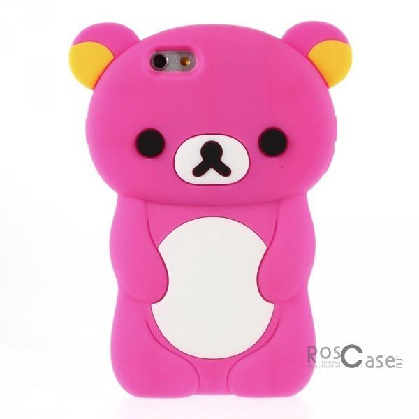 """фото силиконовый чехол """"Медвежонок"""" для Apple iPhone 6 (4.7"""")"""