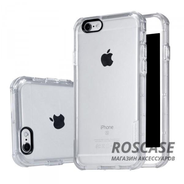 TPU чехол Nillkin Crashproof Case Series для Apple iPhone 6/6s (4.7) (Бесцветный (прозрачный))Описание:компания  - &amp;nbsp;Nillkin;совместим с Apple iPhone 6/6s (4.7);материал  -  термополиуретан;формат  -  накладка.&amp;nbsp;Особенности:заглушки для функциональных отверстий;выступы над экраном и камерой;ударопрочный;защита от ударов, пыли и царапин;прозрачный.<br><br>Тип: Чехол<br>Бренд: Nillkin<br>Материал: TPU