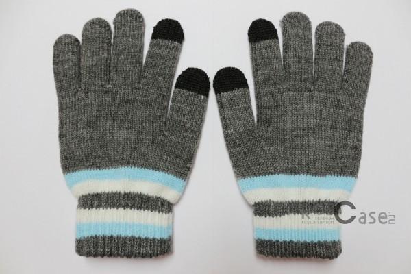 Емкостные перчатки утепленные под кашемир (Серый с голубой полосой)Описание:бренд -&amp;nbsp;Epik;предназначены для работы с сенсорным экраном;материал - шерсть, акрил;тип - емкостные перчатки.Особенности:возможность управлять гаджетом в перчатках;утепленные перчатки;вставки из серебряной нити, которая пропускает тепло;универсальный размер;свойства не теряются даже если они намокнут.<br><br>Тип: Общие аксессуары<br>Бренд: Epik