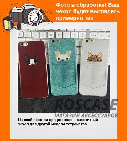 Тонкий силиконовый чехол с принтом Питомцы в кармане для Apple iPhone 5/5S/SEОписание:совместимость  -  смартфон Apple iPhone 5/5S/SE;материал  -  силикон;форм-фактор  -  накладка.Особенности:интересный дизайн;обладает высоким уровнем прочности и износостойкости;не теряет гибкость и эластичность;не деформируется;не скользит в руках.<br><br>Тип: Чехол<br>Бренд: Epik<br>Материал: TPU