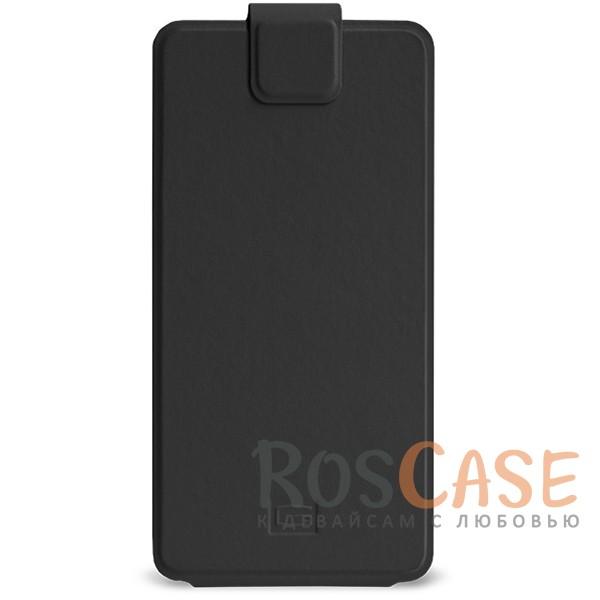 Универсальный чехол-флип Gresso Классик для смартфона 3.5-4.5 дюйма (Черный)<br><br>Тип: Чехол<br>Бренд: Gresso<br>Материал: Искусственная кожа