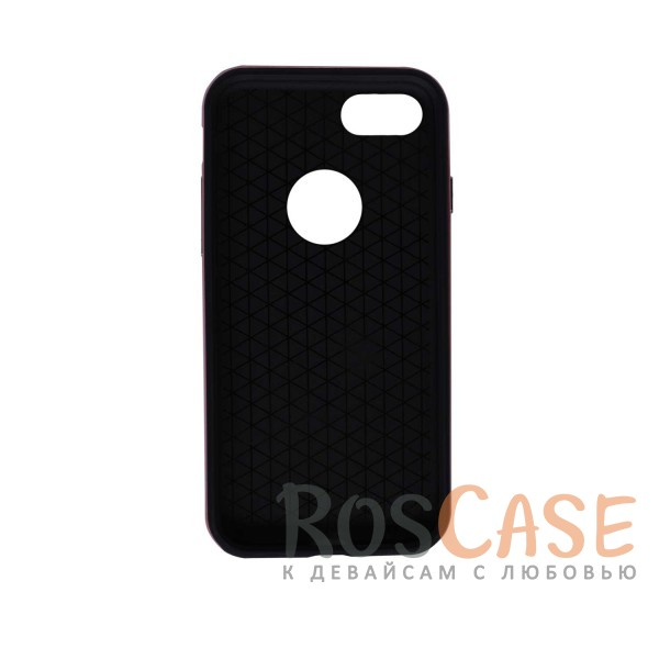 фото Черный / Rose gold TPU+PC чехол Rock Royce Series для Apple iPhone 7 (4.7