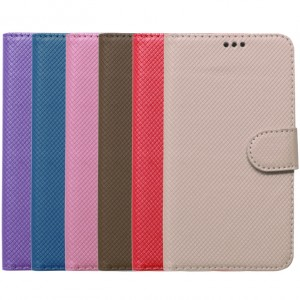 "Texture |  кожаный чехол-книжка (5.3-5.7"") для Meizu Pro 7 Plus"