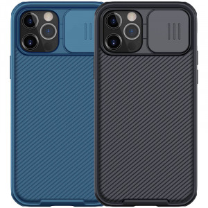 Nillkin CamShield Pro   Чехол из пластика и TPU с защитой камеры для магнитной зарядки для iPhone 12 / 12 Pro