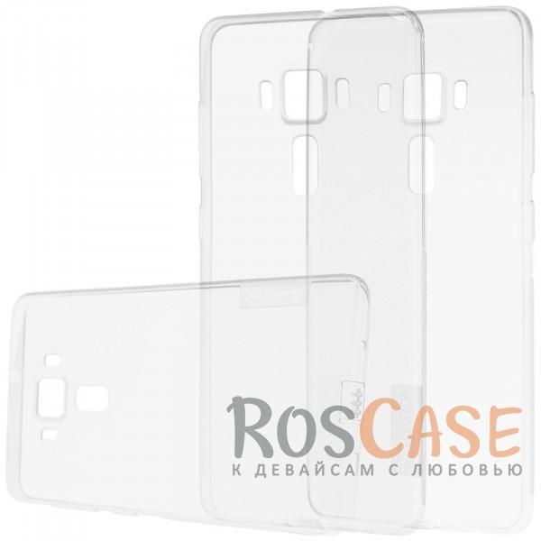 Мягкий прозрачный силиконовый чехол для Asus Zenfone 3 Deluxe (ZS570KL) (Бесцветный (прозрачный))Описание:бренд:&amp;nbsp;Nillkin;совместимость: Asus Zenfone 3 Deluxe (ZS570KL);материал: термополиуретан;тип: накладка;ультратонкий дизайн;прозрачный корпус;не скользит в руках;заглушка от пыли;защищает от механических повреждений.<br><br>Тип: Чехол<br>Бренд: Nillkin<br>Материал: TPU