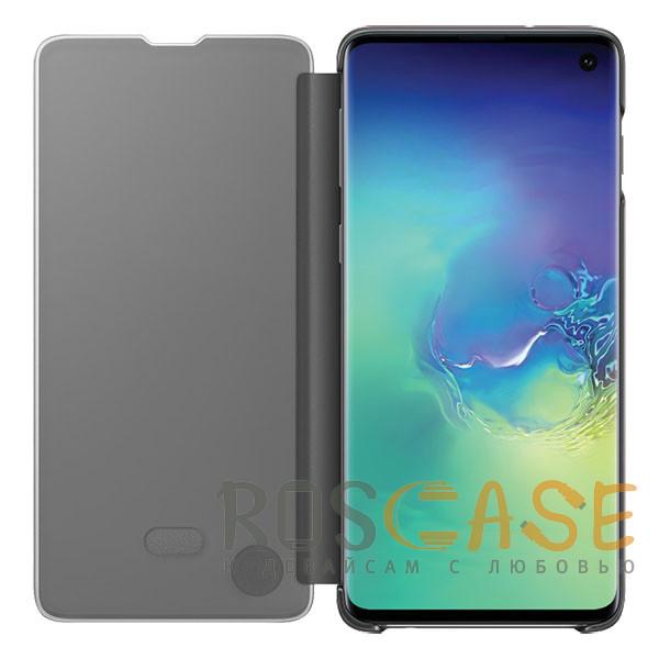 Фотография Серебряный Чехол-книжка Clear View Standing Cover для Samsung Galaxy A80 / A90