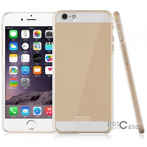 Пластиковая накладка IMAK 0.7 mm Crystal Series для Apple iPhone 6/6s (4.7)Описание:Изготовлена компанией&amp;nbsp;IMAK;Спроектирована персонально для Apple iPhone 6/6s (4.7);Материал: сверхгибкий пластик;Форма: накладка.Особенности:Исключается появление царапин и возникновение потертостей;Восхитительная амортизация при любом ударе;Глянцевая прозрачная поверхность;Не подвержена деформации;Привлекательный дизайн.<br><br>Тип: Чехол<br>Бренд: iMak<br>Материал: Пластик