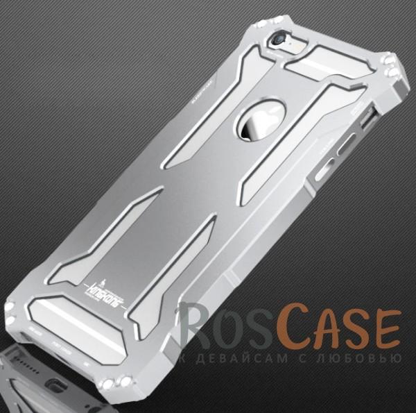 Алюминиевый защитный бампер Luphie King-Kong Series для Apple iPhone 6/6s (4.7) (Серебряный)Описание:бренд -&amp;nbsp;Luphie;материал - алюминий;совместим с Apple iPhone 6/6s (4.7);тип - бампер.Особенности:прочный алюминий;в наличии все вырезы;ультратонкий дизайн;защита граней и задней панели от ударов и царапин.<br><br>Тип: Чехол<br>Бренд: Luphie<br>Материал: Металл