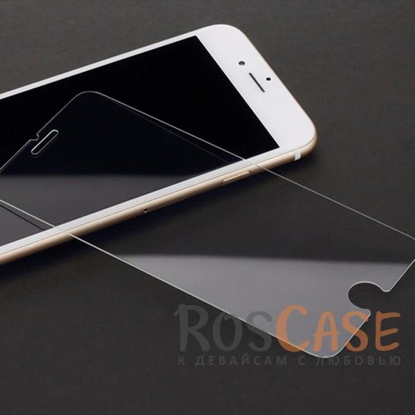 """Фото Закаленное защитное стекло ROCK на экран с закругленными гранями и олеофобным покрытием """"анти-отпечатки"""" для Apple iPhone 7 / 8 (4.7"""")"""