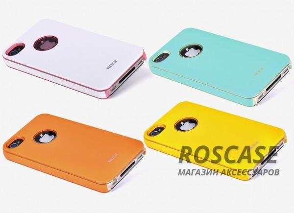 Пластиковая накладка ROCK для iPhone 4/4S (6 цветов) Invigorate Series