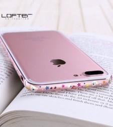 "Lofter Cutie | Металлический бампер для Apple iPhone 7 Plus (5.5"") с рисунком зверушек"