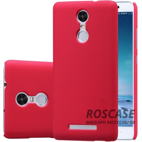 Чехол Nillkin Matte для Xiaomi Redmi Note 3 / Redmi Note 3 Pro (+ пленка) (Красный)Описание:производитель - компания&amp;nbsp;Nillkin;материал - поликарбонат;совместим с Xiaomi Redmi Note 3 / Redmi Note 3 Pro;тип - накладка.&amp;nbsp;Особенности:матовый;прочный;тонкий дизайн;не скользит в руках;не выцветает;пленка в комплекте.<br><br>Тип: Чехол<br>Бренд: Nillkin<br>Материал: Поликарбонат