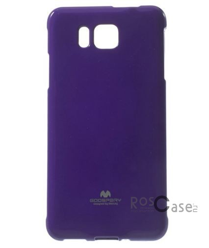 фото TPU чехол Mercury Jelly Color series для Samsung G850F Galaxy Alpha