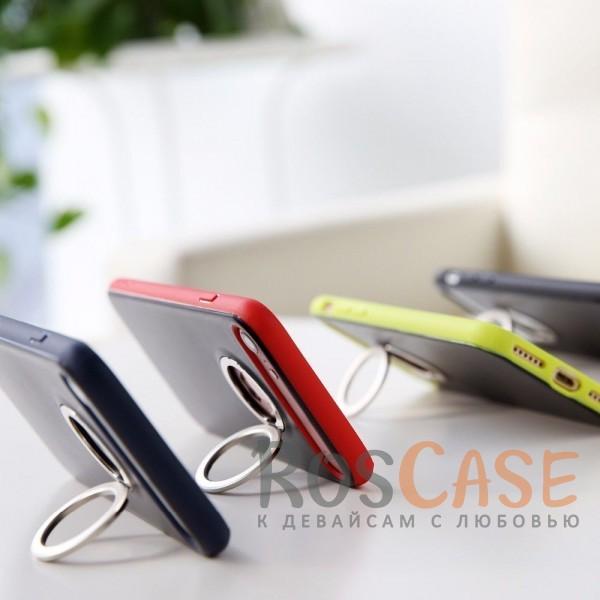 Стильный пластиковый защитный чехол с удобным кольцом-подставкой на 360 для Apple iPhone 7 / 8 (4.7)Описание:произведен компанией&amp;nbsp;Rock;разработан для Apple iPhone 7 / 8 (4.7);материалы: термополиуретан и поликарбонат;тип: накладка.<br><br>Тип: Чехол<br>Бренд: ROCK<br>Материал: TPU