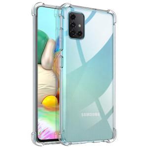 King Kong | Противоударный прозрачный чехол для Samsung Galaxy A71 с защитой углов