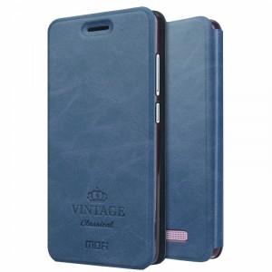 MOFI Vintage | Кожаный чехол-книжка с карманом для Xiaomi Redmi 4a