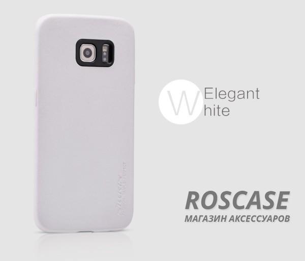 Чехол накладка Nillkin Victoria Series для Samsung G925F Galaxy S6 Edge (Белый)Описание:производитель  -  фирма&amp;nbsp;Nillkin;разработан специально для Samsung G925F Galaxy S6 Edge;материал  -  искусственная кожа;тип  -  накладка.&amp;nbsp;Особенности:мягкая на ощупь;все функциональные вырезы на своих местах;не остаются отпечатки пальцев;тонкий дизайн;защищает от царапин и падений;не скользит.<br><br>Тип: Чехол<br>Бренд: Nillkin<br>Материал: Искусственная кожа