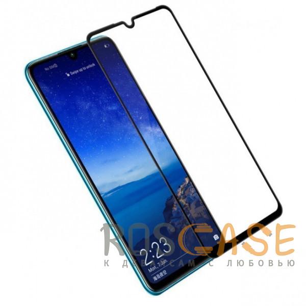 Фотография Черный 5D защитное стекло для Huawei P30 на весь экран