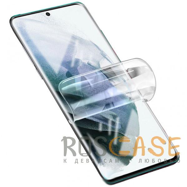 Фото Прозрачная Гидрогелевая защитная плёнка Rock для Samsung Galaxy S21