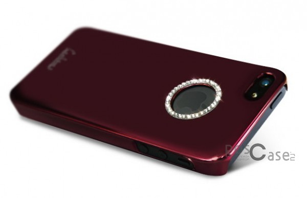 Накладка Dreamplus Eileen Metal Ring Series для iPhone 5 (+ пленка)