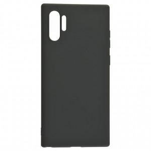 Силиконовый матовый однотонный чехол 0.5 мм для Samsung Galaxy Note 10+
