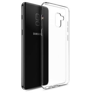 Прозрачный силиконовый чехол для Samsung Galaxy A6 (2018)