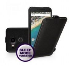 TETDED натур. кожа | Чехол-флип для LG Google Nexus 5x
