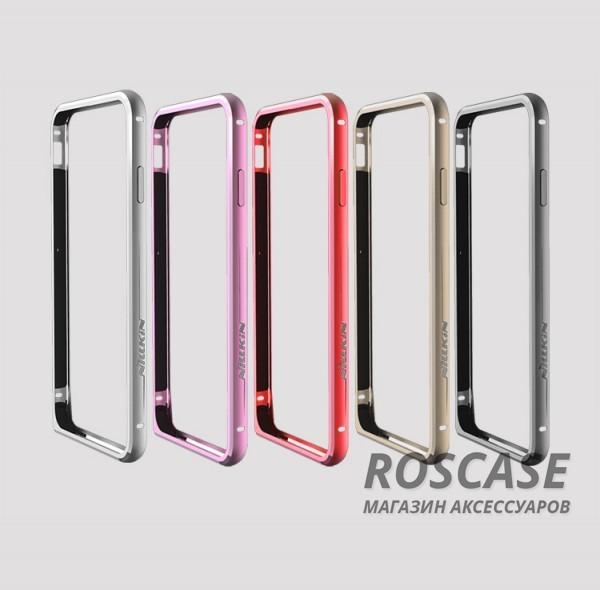Металлический бампер Nillkin Gothic Series для Apple iPhone 6/6s (4.7)Описание:производитель  -  бренд Nillkin;совместимость: Apple iPhone 6/6s (4.7);материал  -  металл;форма  -  бампер.&amp;nbsp;Особенности:легкий и прочный;имеет все функциональные вырезы;обладает хорошей амортизацией;не увеличивает габариты;стильныйгладкий.<br><br>Тип: Бампер<br>Бренд: Nillkin