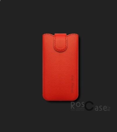 фото кожаный футляр Mavis Classic 100x58/110x60 для Nokia 501/Samsung S5660/S6102/LG E425/E435/HTC Desire
