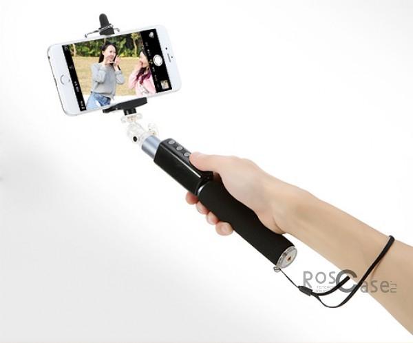 фото телескопический монопод ROCK для селфи (Bluetooth)
