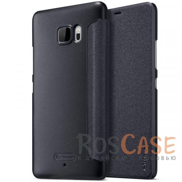 Защитный чехол-книжка для HTC U Ultra (Черный)Описание:бренд&amp;nbsp;Nillkin;спроектирован для HTC U Ultra;материалы: поликарбонат, искусственная кожа;блестящая поверхность;не скользит в руках;предусмотрены все необходимые вырезы;защита со всех сторон;функция Sleep mode;тип: чехол-книжка.&amp;nbsp;<br><br>Тип: Чехол<br>Бренд: Nillkin<br>Материал: Искусственная кожа