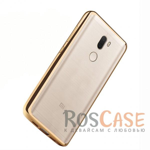 Прозрачный силиконовый чехол для Xiaomi Mi 5s Plus с глянцевой окантовкой (Золотой)Описание:совместим с Xiaomi Mi 5s Plus;материал - термополиуретан;тип - накладка.<br><br>Тип: Чехол<br>Бренд: Epik<br>Материал: TPU