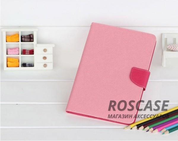 Чехол (книжка) Mercury Fancy Diary series для Samsung Galaxy Tab S2 8.0 (Розовый / Малиновый)Описание:производитель  -  бренд&amp;nbsp;Mercury;совместим с Samsung Galaxy Tab S2 8.0;материалы  -  искусственная кожа, термополиуретан;форма  -  чехол-книжка.&amp;nbsp;Особенности:рельефная поверхность;все функциональные вырезы в наличии;внутренние кармашки;магнитная застежка;защита от механических повреждений;трансформируется в подставку.<br><br>Тип: Чехол<br>Бренд: Mercury<br>Материал: Искусственная кожа
