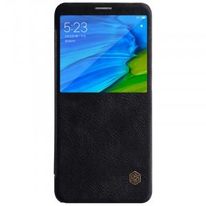 Nillkin Qin натур. кожа | Чехол-книжка для Xiaomi Redmi Note 5 Pro