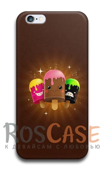 "Фото Мороженка Пластиковый чехол RosCase ""ЛЕТО!"" для iPhone 6/6s (4.7"")"